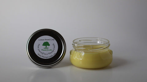 6 oz Lemon Pound Cake soy wax candle