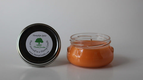 6 oz Pumpkin Spice soy wax candle
