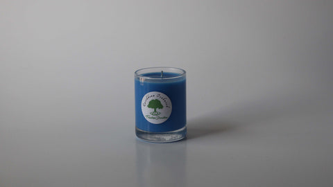 3 oz Caribbean Teakwood soy wax votive