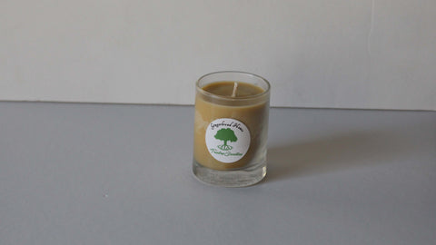 3 oz Gingerbread House soy wax votive