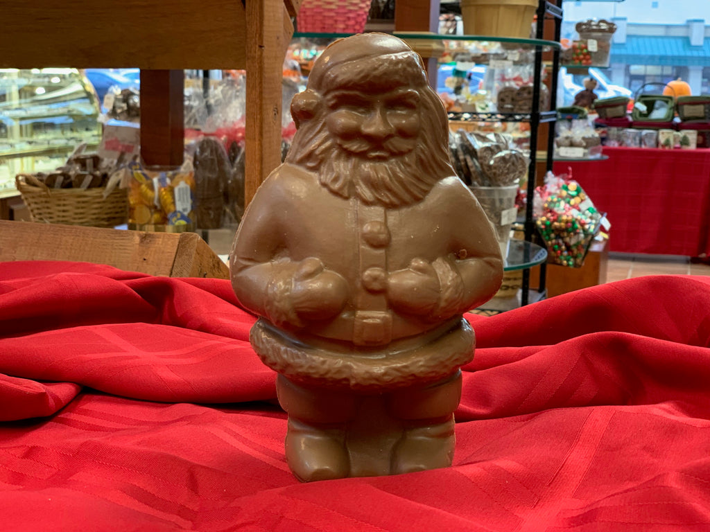 Milk Chocolate Chubby Santa