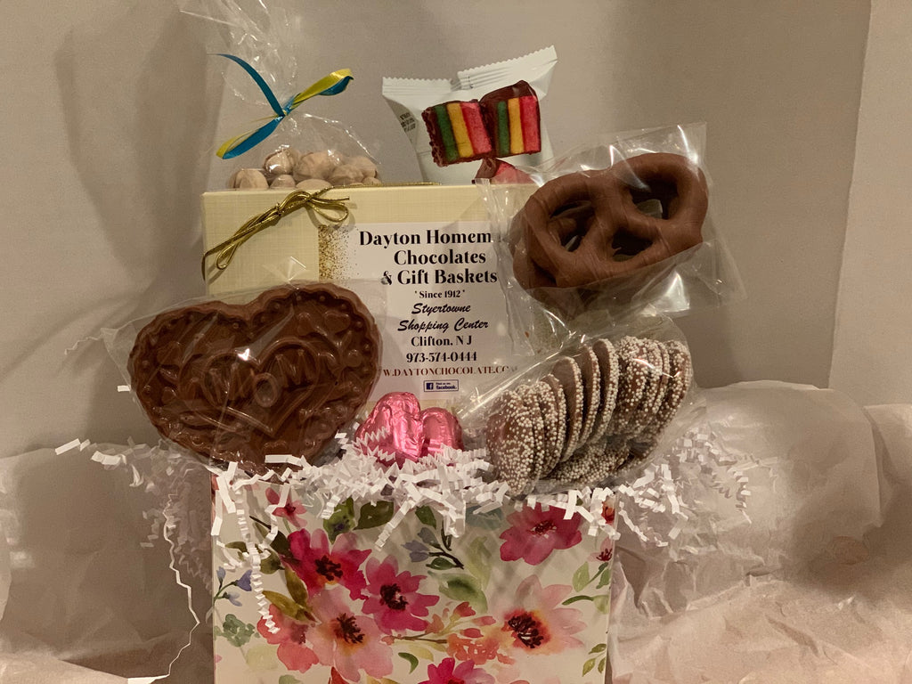 chocolate gift basket box