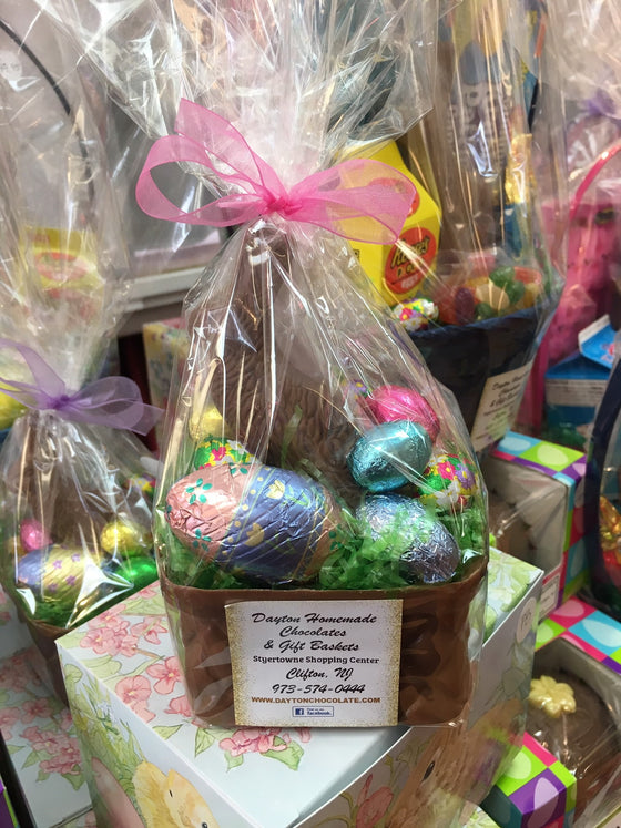 All Milk Chocolate Square Basket