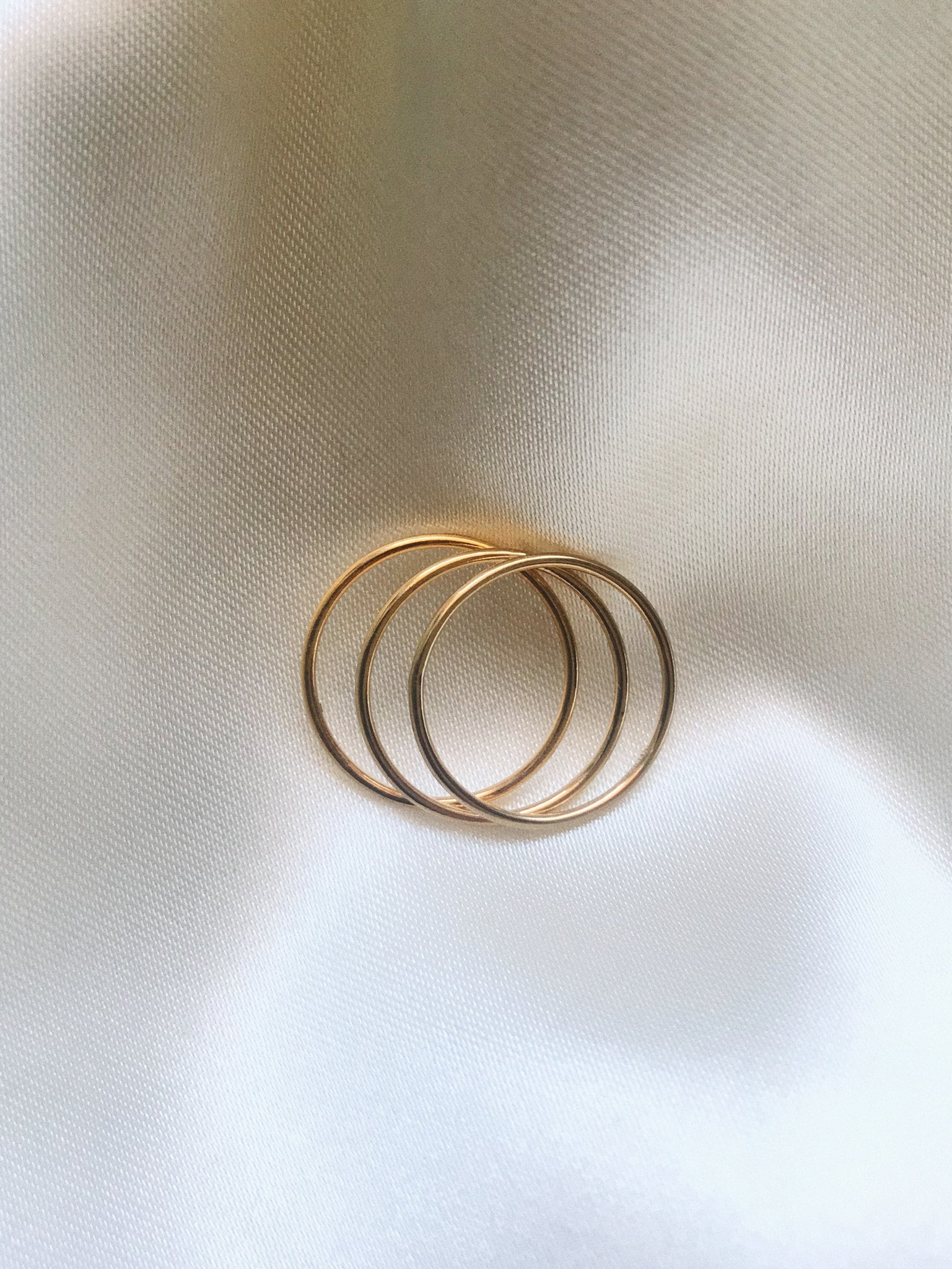 Thin Stacker Rings