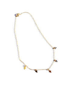 Cross Charm Choker
