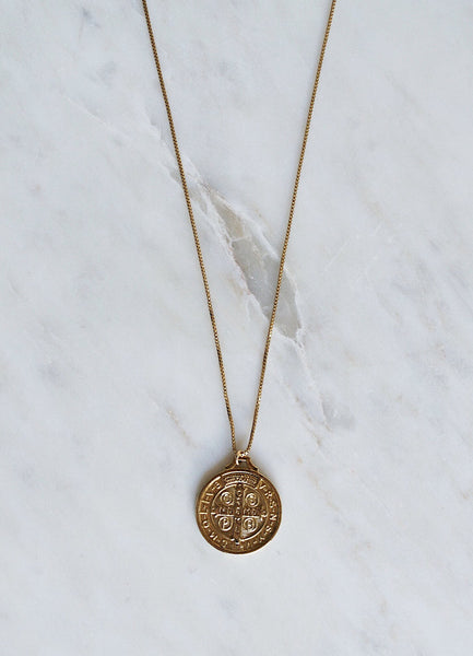 Benito Coin Necklace