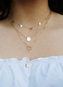 Allie Lariat Necklace