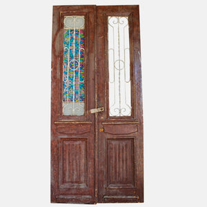 Vintage Solid Wood & Iron Doors #18