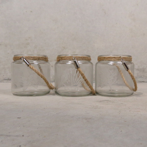 Oceans Candle Holder - Set of 3