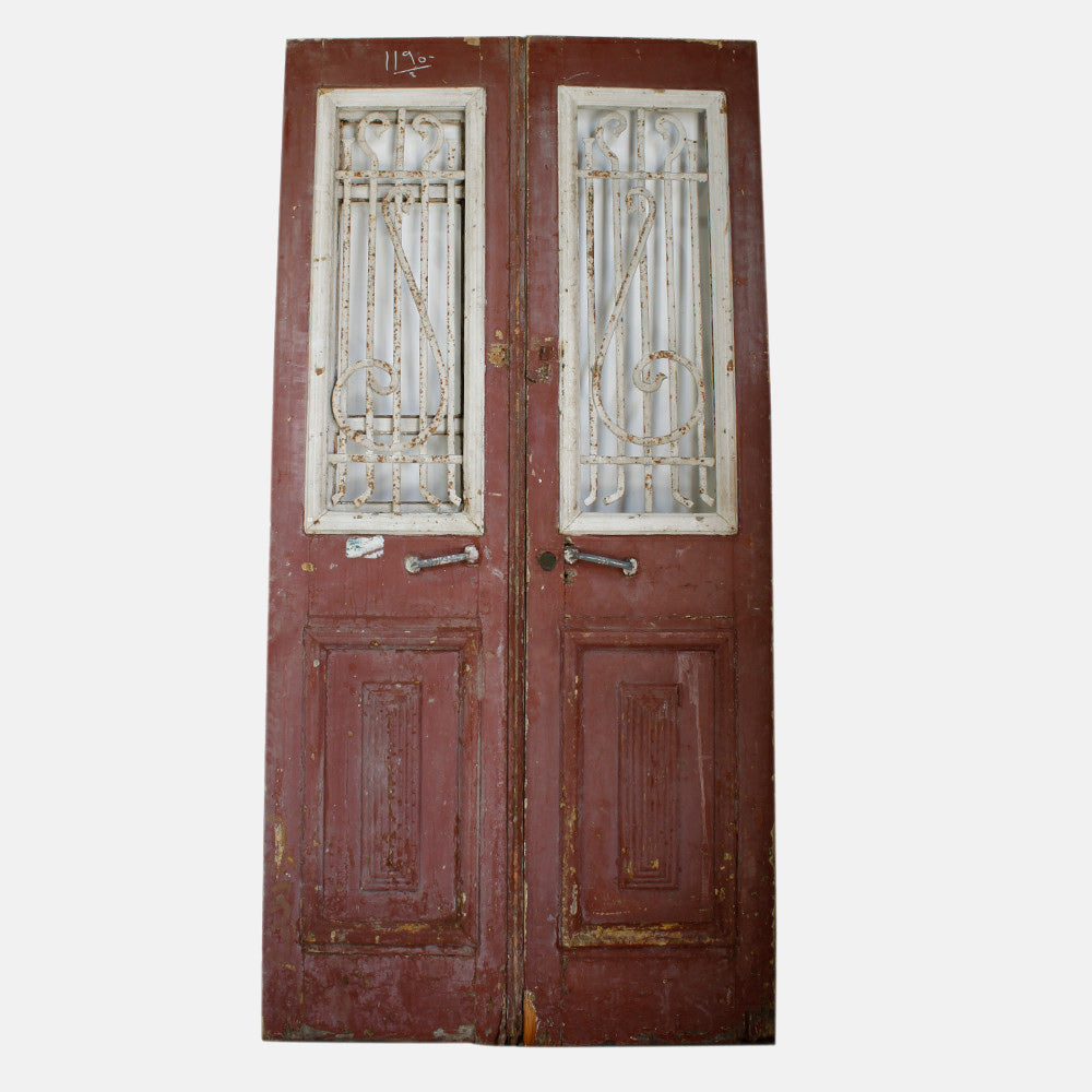 Vintage Solid Wood & Iron Doors #16