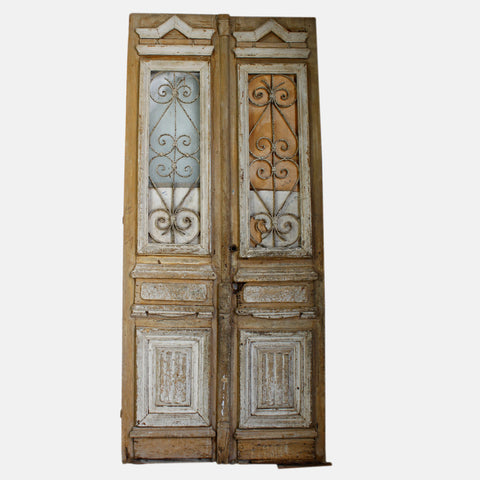 Vintage Solid Wood & Iron Doors #25