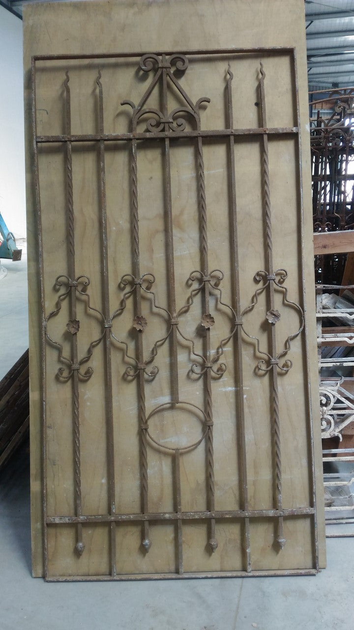 Wrought Iron - 2.15 m High