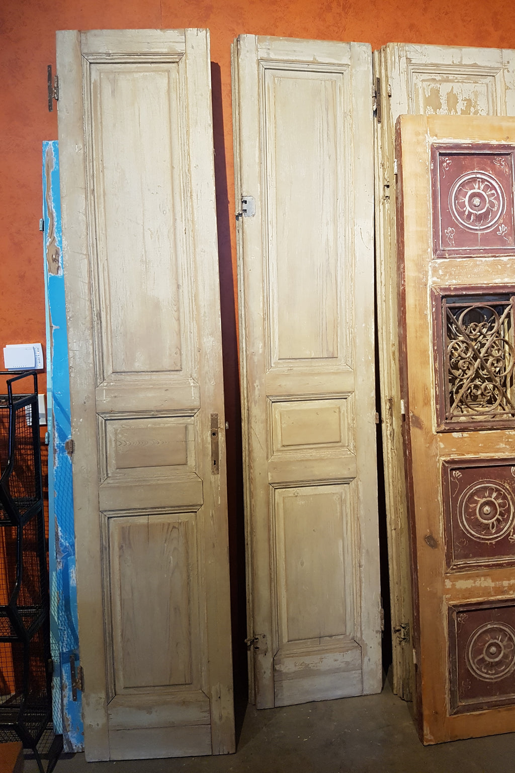 Vintage Solid Wood Panel Doors