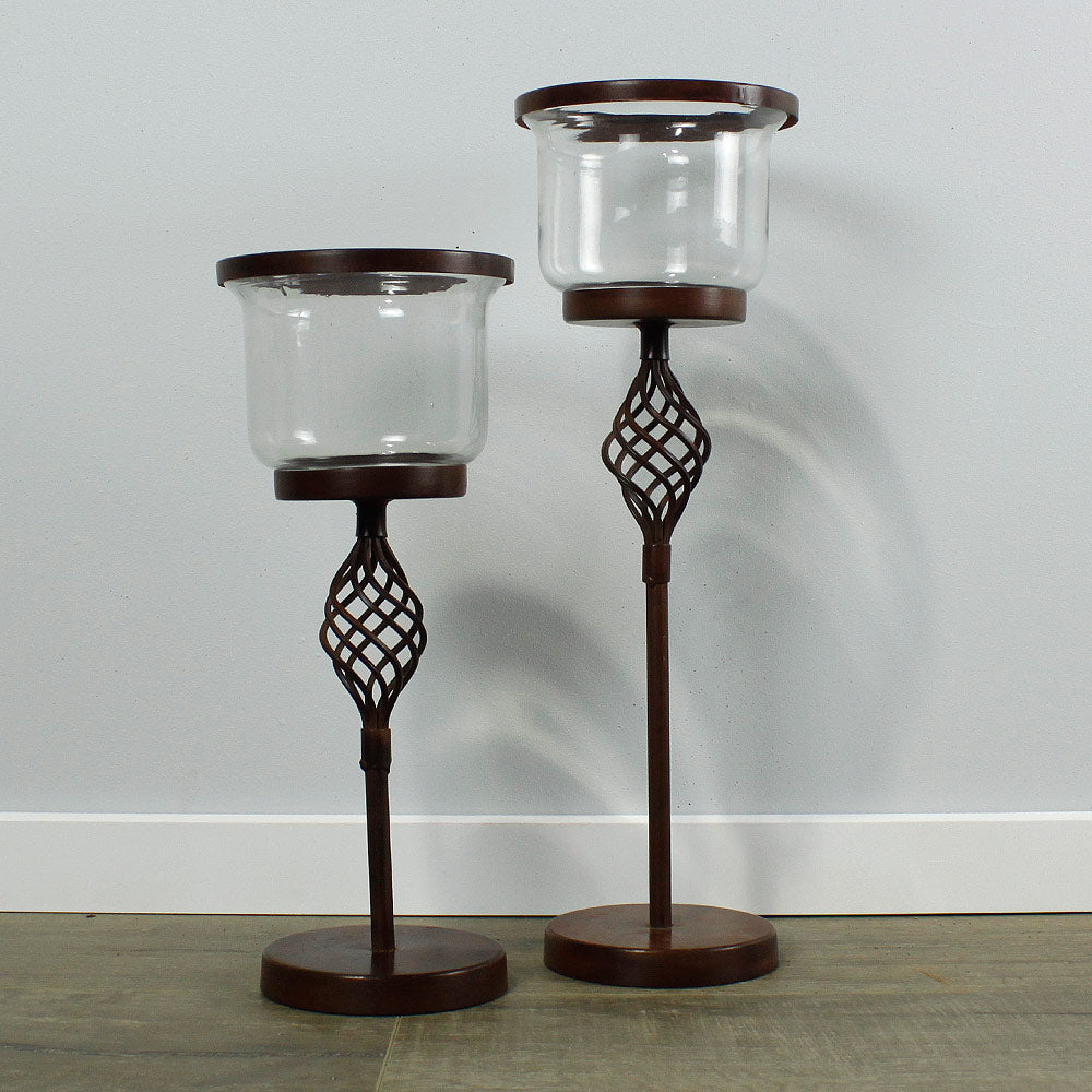 Ponto Candle Holders - Small / Large