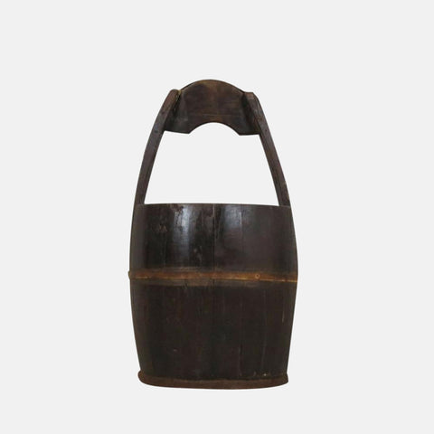 Wood Handled Well Bucket