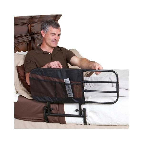 Stander EZ Adjust Bed Rail Assembly and Use Instructions - Video