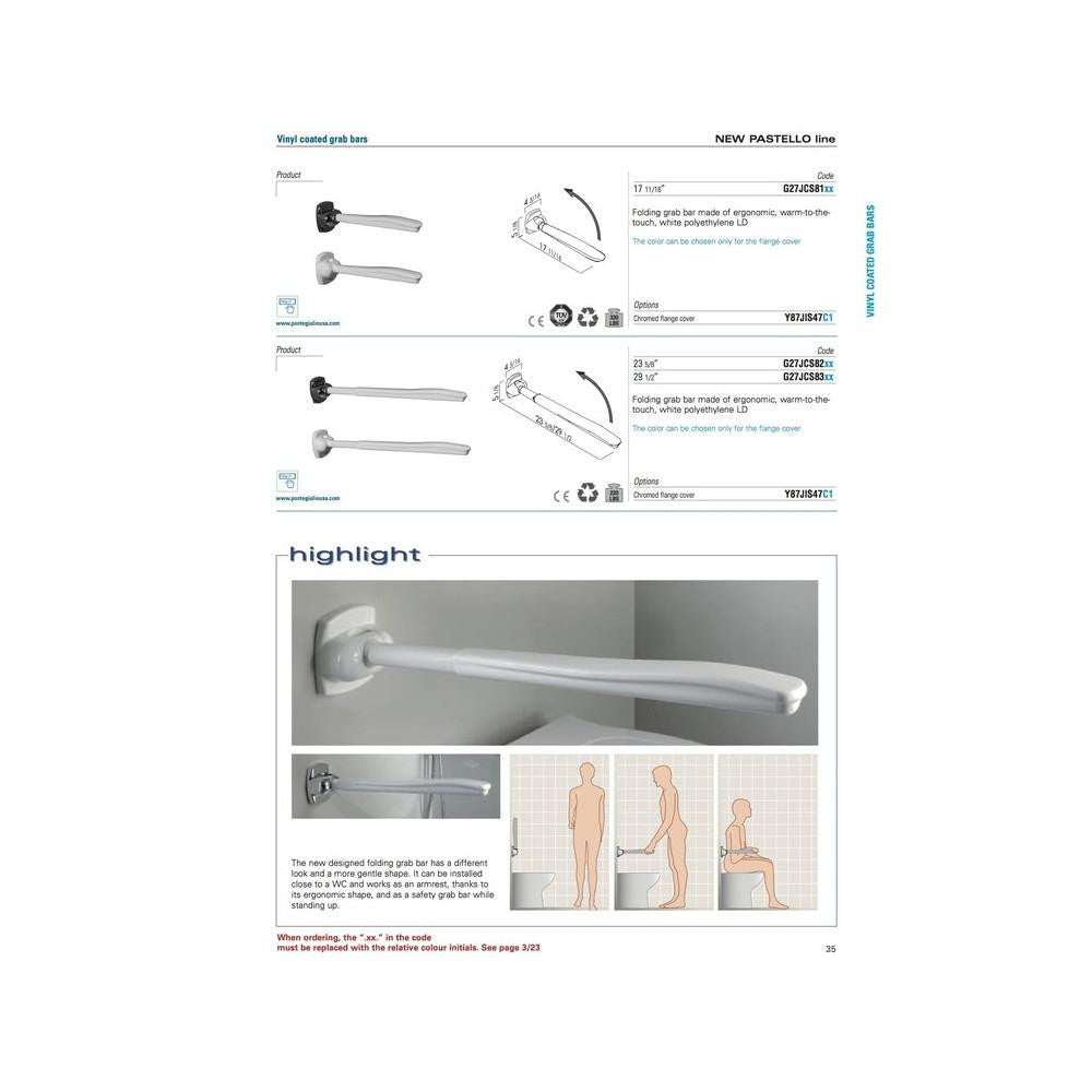 Ponte Giulio Grab Bars at Safety In Place tagged \