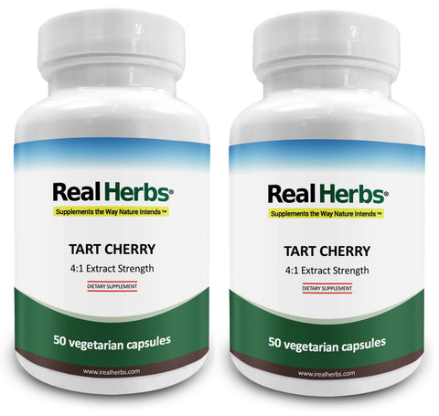 2 Bottles of Tart Cherry 4:1  Extract 700mg – 100 Vegetarian Capsules