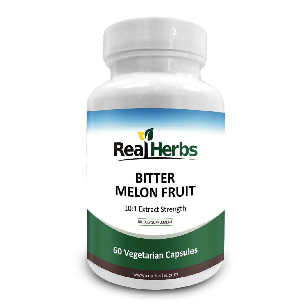 Bitter Melon Extract 750mg Dietary Supplement - 50 Vegetarian Capsules