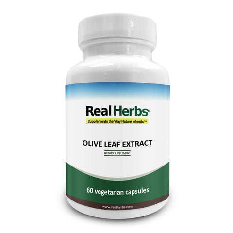 1 Bottle of Olive Leaf Extract 750mg - 60 Vegetarian Capsules