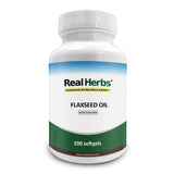 Flaxseed Oil (Cold-pressed) - 1000Mg/Softgel - 100 Vegetarian Softgels