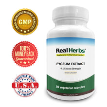 Load image into Gallery viewer, Pygeum  4:1 Extract  500mg - 50 Vegetarian Capsules