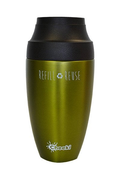 Cheeki  350ml Coffee Mugs  Coffee - double-wall vacuum insulation
