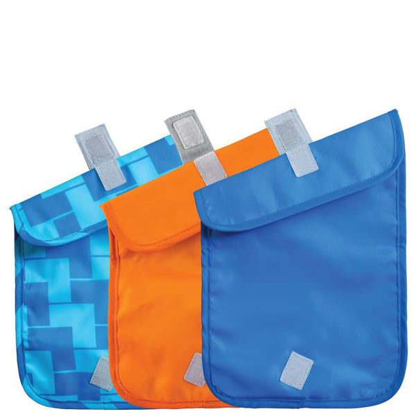 ChicoBag Snack Time Blue Ladder reusable pouches