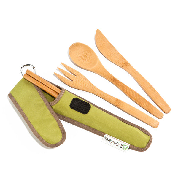 To-Go Ware Bamboo Cutlery Kit