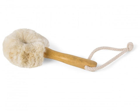 Dry Face Brush Soft Bristle Jute fibre