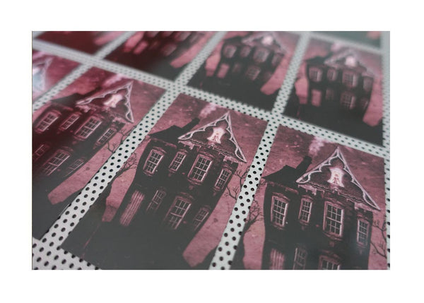 """House on the Hill"" Magnet"