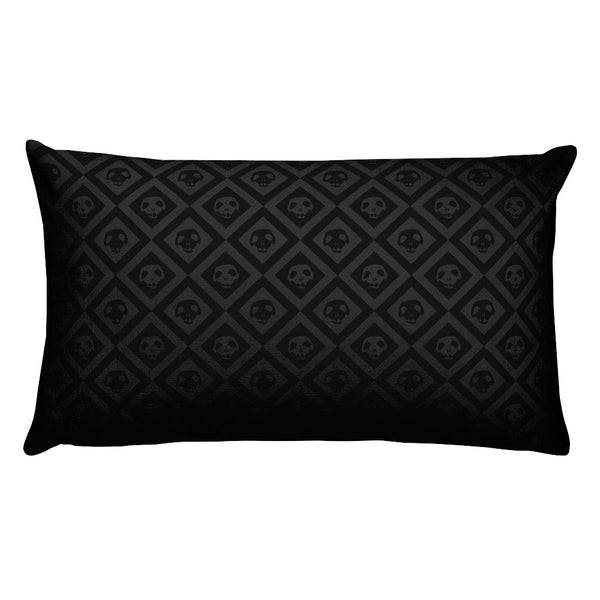 """Pins & Needles"" Rectangular Pillow"