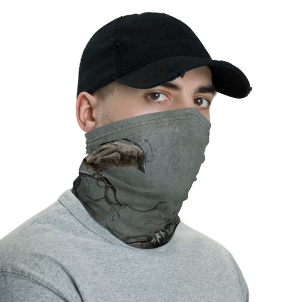 The Bat and the Finch Neck Gaiter