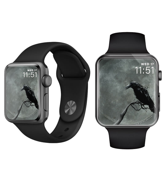 Raven Moon ~ iWatch Face