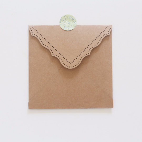 Set of CD sleeve/recycled Kraft paper/wedding photography packaging/dotted CD case