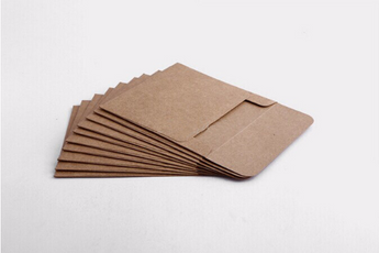 Set of CD sleeves - Kraft paper, recycled & eco-friendly - DVD, CD wedding favors, photography packaging