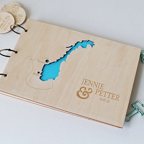 Wedding Reception Ceremony Party Guitar Guest Book Custom Wedding Guest Book , Wedding Guest Book Wood ,Alternative Wedding Guest Book