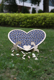 Custom wedding guest book Wedding guest book alternative wood Heart box