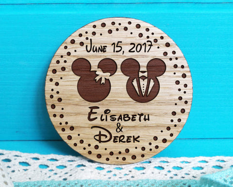 Save the Date Wedding Magnets , Wedding Favor Magnets, Bride, Groom