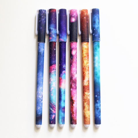 Galaxy Fine Tip Pens 0.38mm in Ink Pack of 6