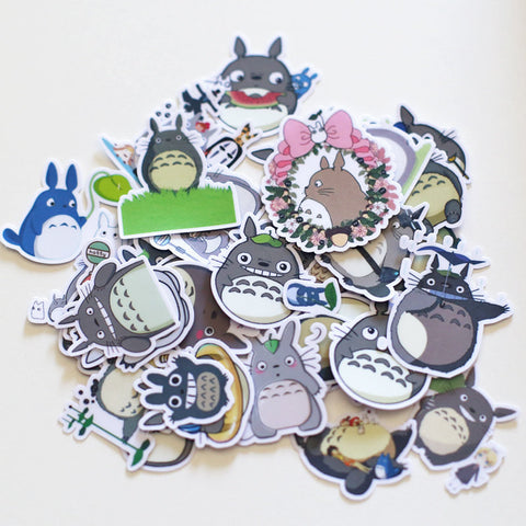 My neighbor totoro stickers/planner stickers/scrapbooking stickers 37pcs--S004