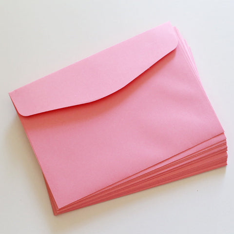 Pink envelopes/A7 envelopes/ wedding envelopes/5x7 envelopes/