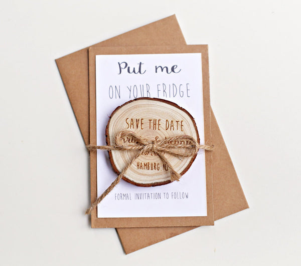 Personalized Save the Date Magnets