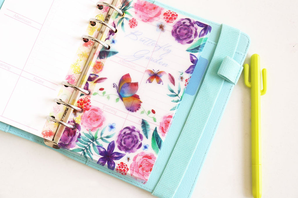 Birds   Planner Dividers/  A5 dividers /Personal dividers /butterflys Planner divider set /Filofax dividers /flowers planner dividers