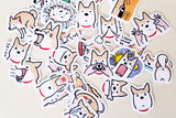 Shiba   stickers set/ Planner Stickers/ Filofax Stickers/Lap top stickers/Scrapbook Sticker/OS057