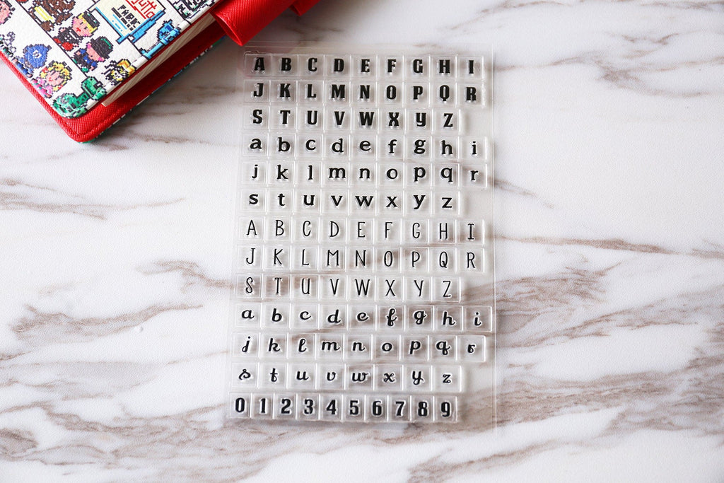 Letters Stamp/capital stamp/ Number stamp/alphabet stamp/ lowercase stamp/ Planning accessory