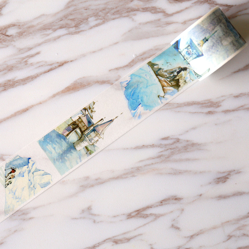 40mm x 7m Switzerland Washi tape/Building Landmarks Washi Tapes/ city Washi Tape/Decorative Stickers / Masking tape/Switzerland washi tape
