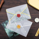 White clear envelopes/Sliver and gold Clear Envelopes / Glassine Envelopes/gift packing