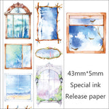 Dream Window washi tape /Masking Washi Tape  /album emblishment/realistic washi tape