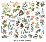 40pcs Flower sticker set/large size rose Planner Stickers/ Filofax Stickers/Lap top stickers/Scrapbook Sticker